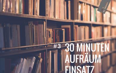 30 Minuten Aufräumeinsatz #3 | Bücher