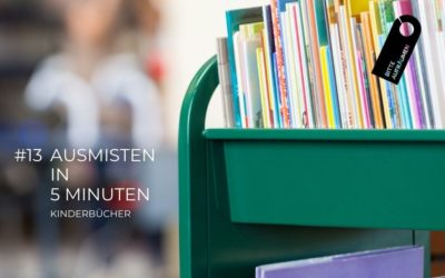Ausmisten in 5 Minuten #13 | Kinderbücher